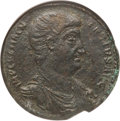 Ancients:Roman Imperial, Ancients: Magnentius (AD 350-353). AE medallion (37mm, 33.76 gm,11h). NGC Choice VF 5/5 - 3/5, lt smoothing....