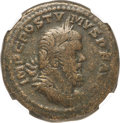 Ancients:Roman Imperial, Ancients: Postumus (AD 260-269). AE sestertius (30mm, 21.74 gm, 5h). NGC Choice Fine ★ 5/5 - 5/5....