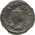 Ancients:Roman Imperial, Ancients: Quietus (AD 260-261). AE as (25mm, 10.36 gm, 12h). NGC XF4/5 - 2/5....