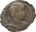 Ancients:Roman Imperial, Ancients: Nepotian (AD 350). AE2 or BI centenionalis (25mm, 4.86 gm, 12h). NGC Fine 4/5 - 1/5, scratches....