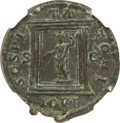 Ancients:Roman Imperial, Ancients: Caracalla, as Augustus (AD 198-217). AE as (26mm, 9.96gm, 10h). NGC AU 5/5 - 3/5....