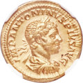 Ancients:Roman Imperial, Ancients: Elagabalus (AD 218-222). AV aureus (21mm, 6.68 gm, 5h).NGC Choice XF 5/5 - 3/5....