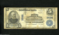 National Bank Notes:Louisiana, Shreveport, LA - $5 1902 Plain Back Fr. 600 The First NB Ch. # 3595Signatures remain on this note that has some snap. ...