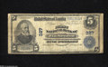National Bank Notes:Massachusetts, Winchendon, MA - $5 1902 Plain Back Fr. 598 The First NB Ch. # 327This is one of 13 Large in the census. The signature...