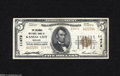 National Bank Notes:Missouri, Kansas City, MO - $5 1929 Ty. 2 The Columbia NB Ch. # 11472 Mildsoil spotting can be found on the back of this bright ...