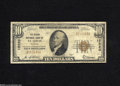 National Bank Notes:Missouri, Saint Louis, MO - $10 1929 Ty. 1 The Grand NB Ch. # 12220 This bankwould exit the St. Louis banking stage in 1934. F...