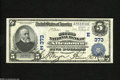 National Bank Notes:Pennsylvania, Allentown, PA - $5 1902 Plain Back Fr. 598 The Second NB Ch. #(E)373 Bold signatures of C.H. Moyer and Thomas E. Ritte...