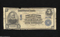 National Bank Notes:Pennsylvania, Beaver, PA - $5 1902 Plain Back Fr. 599 The Fort McIntosh NB Ch. # 8185 This is a new addition for the census that curr...