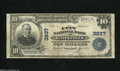 National Bank Notes:Tennessee, Knoxville, TN - $10 1902 Plain Back Fr. 626 The City NB Ch. # 3837The signatures have faded on this snappy $10. Fine...