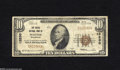 National Bank Notes:Washington, Seattle, WA - $10 1929 Ty. 1 The Pacific NB Ch. # 13230 A couple ofminute pinholes are found on this evenly circulate...