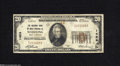 National Bank Notes:West Virginia, Wheeling, WV - $20 1929 Ty. 1 The NB of West Virginia Ch. # 1424Officers A.E. Schmidt and W.B. Irvine were able to nav...