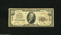 National Bank Notes:West Virginia, Wheeling, WV - $10 1929 Ty. 2 The National Exchange Bank Ch. # 5164This note is well circulated, yet intact. Very Go...
