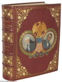 Fabulous U.S. Presidents Autographs Collection in Presentation Book A spectacular assemblage of autographs collected in...