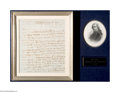 Autographs:U.S. Presidents, John Adams 1791 Signed Letter on Importing Arms from Europe...