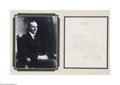 Autographs:U.S. Presidents, Calvin Coolidge TLS...