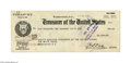 Autographs:U.S. Presidents, Calvin Coolidge Endorsed 1926 Presidential Paycheck...
