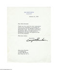 Autographs:U.S. Presidents, President Dwight D. Eisenhower - 1955 Typed Letter Signed...