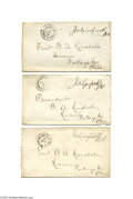 Autographs:U.S. Presidents, James A Garfield Three Franked Covers as Congressman...