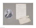Autographs:U.S. Presidents, Rutherford B. Hayes...