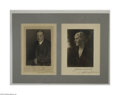 Autographs:U.S. Presidents, Herbert Hoover and Lou Henry Hoover...
