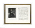 Autographs:U.S. Presidents, Andrew Jackson Autograph Letter Signed As President...