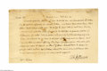 Autographs:U.S. Presidents, Rare and Important Thomas Jefferson 1814 Autograph Letter Signed...
