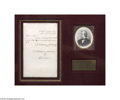 Autographs:U.S. Presidents, Andrew Johnson Letter as Senator...