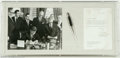 Autographs:U.S. Presidents, John F. Kennedy Signed Photo and Bill-Signing Pen...