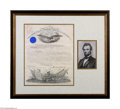 Autographs:U.S. Presidents, President Abraham Lincoln Appoints a Surgeon, 1861...
