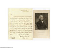 Autographs:U.S. Presidents, James Madison 1805 Letter as Secretary of State...