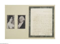 Autographs:U.S. Presidents, James Madison 1819 Signed Letter to President James Monroe...