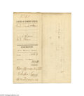 Autographs:U.S. Presidents, Early 1869-dated William McKinley Signed Document...
