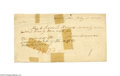 Autographs:U.S. Presidents, James Monroe Signed Check, 1825...