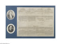 Autographs:U.S. Presidents, James Monroe and John Quincy Adams Signed Four-Language Ship's Paper for a Pacific Whaling Voyage...