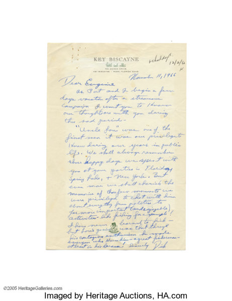 Exceptional and Rare Full Page Richard Nixon Autograph Letter | Lot