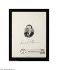 Autographs:U.S. Presidents, Richard Nixon and Watergate Collection...