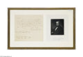 Autographs:U.S. Presidents, President James K. Polk Autograph Letter Signed...