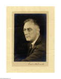 Autographs:U.S. Presidents, Exceptional Franklin D. Roosevelt Signed Photo as President...