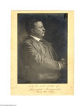 Autographs:U.S. Presidents, A Superb Large Signed Photo of Theodore Roosevelt...