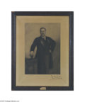 Autographs:U.S. Presidents, Massive Teddy Roosevelt Autographed Portrait, One of the Finest TRPieces We've Ever Handled...