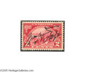 Autographs:U.S. Presidents, William Howard Taft Signed Postage Stamp...