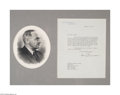 Autographs:U.S. Presidents, Harry S. Truman Letter as President....