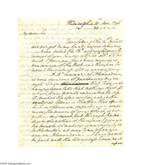 "George Washington Autograph Letter Signed as President Autograph letter signed, ""Go:Washington,"" three pages..."