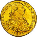 Colombia, Colombia: Ferdinand VII gold 8 Escudos 1811 NR-JF MS63 PCGS,...