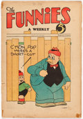 Platinum Age (1897-1937):Miscellaneous, The Funnies #36 (Dell, 1930) Condition: FR/GD....