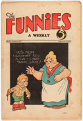 Platinum Age (1897-1937):Miscellaneous, The Funnies #35 (Dell, 1930) Condition: VG....