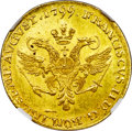 German States:Hamburg, German States: Hamburg. Free City gold Ducat 1799 MS64 NGC,...