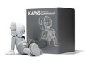 Prints & Multiples, KAWS (American, b. 1974). Resting Place Companion (Grey), 2013. Painted cast vinyl. 8-1/2 x 9 x 11-1/2 inches (21.6 x 22...