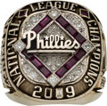 Baseball Collectibles:Others, 2009 Philadelphia Phillies National League Championship Ring....