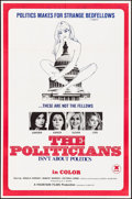 """Movie Posters:Adult, The Politicians & Other Lot (Ellman Enterprises, 1970) Folded, Overall Grade: Very Fine-. One Sheets (2) (27"""" X 41"""" & 27.25""""... (Total: 2 Items)"""